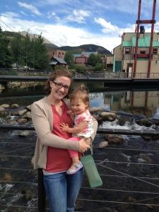 Megan and Karen in Breckenridge CO, August 2013.